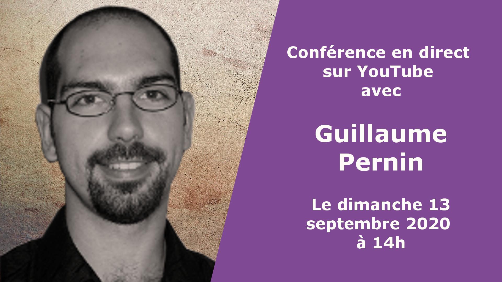 Conférence de Guillaume Pernin